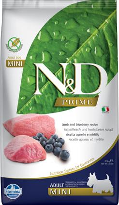 N&D Prime Dog Lamb & Blueberry Adult Mini